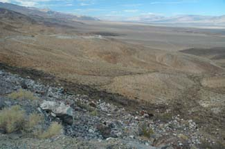 Panamint Valley overlook
