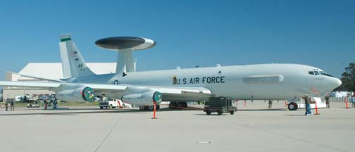 Boeing E-3B Sentry, 73-1675 of the 962 AACS