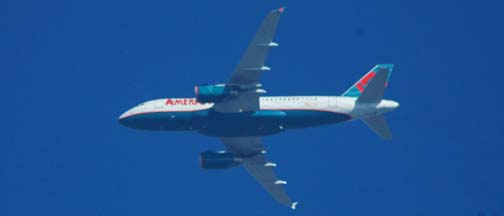 America West Airlines Airbus A319-132 N827AW, Phoenix, November 25, 2004