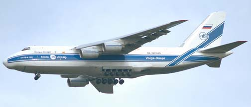 Volga-Dnepr An-124, RA-82045 at Vandenberg AFB, California, February 2005