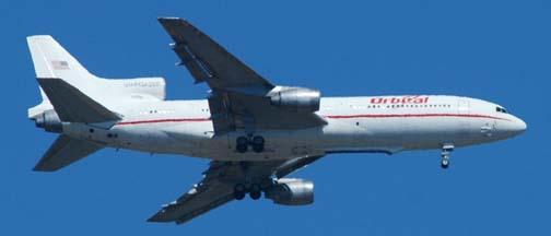 Orbital Sciences' L-1011 <em>Stargazer</em> N140SC, April 15, 2005