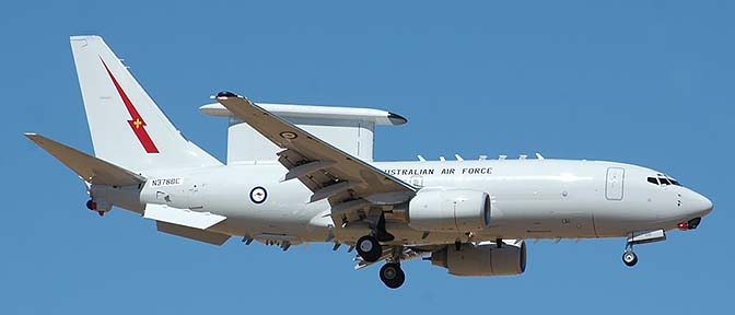 Royal Australian Air Force Boeing 737-7ES Wedgetail AEW&C prototype, N378BC