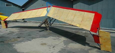 Rocket powered hang glider