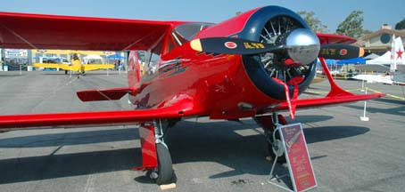 Beech G17S Staggerwing, NC80321