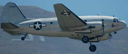Curtiss C-46F Commando, N53594 China Doll