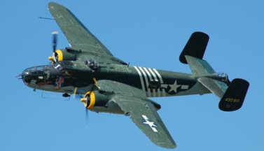 North American B-25J Mitchell, N30801 <em>Executive Sweet