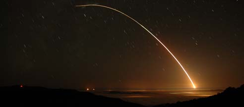 Minuteman III launch, September 7, 2005