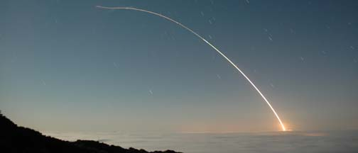 Minuteman III launch, September 14, 2005