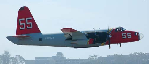 Lockheed SP-2H Neptune, N355MA Tanker 55, September 2005