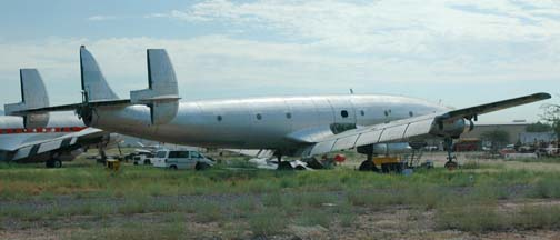 C-121G, N105CF at Marana Regional Airport, Arizona on September 26, 2005