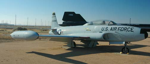 Lockheed T-33A-5, 58-0669 restored as 53-5099