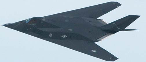 Lockheed-Martin F-117A Full Scale Development (FSD) Stealth Fighter, 79-10782, 412th Test Wing