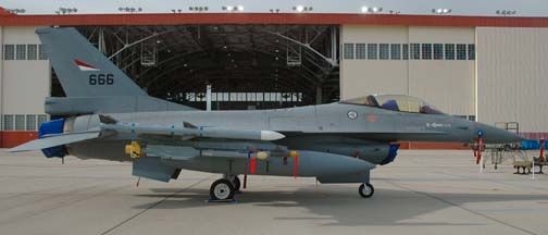 Norwegian Air Force General Dynamics F-16A Fighting Falcon, 80-3666