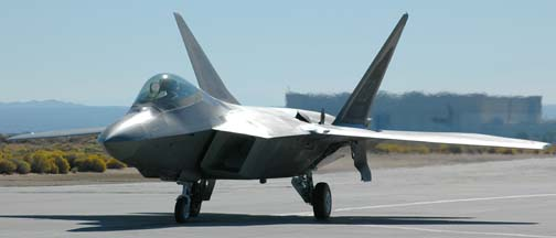 Lockheed-Martin F-22A EMD Raptor, 91-4009, 412th Test Wing
