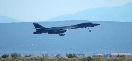 Boeing-Rockwell B-1B Lancer, 85-0068, 412th Test Wing