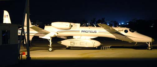 Proteus, N281PR at Santa Barbara, January 11, 2006