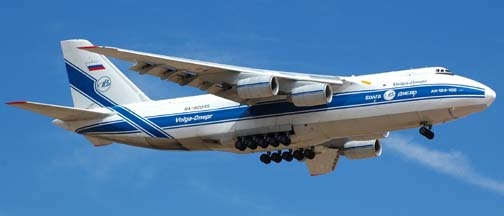 Volga-Dnepr An-124 Ruslan, RA82045 Flight VDA3424