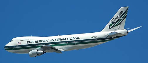 Evergreen International Supertanker at San Bernardino, May 31, 2006