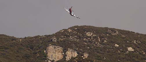 Day Fire Tanker Operations, Monday, September 25