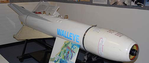 AGM-62 Walleye II television-guided, glide bomb