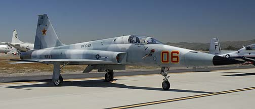 Navy Northrop F-5E Tiger II 730855 of VFC-13 Fighting Saints