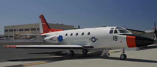 North American CT-39G Sabreliner BuNo 160053