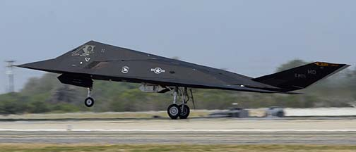 Lockheed F-117A Nighthawk 84-1825 of the 8th Fighter Squadron of the 49th Fighter Wing