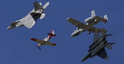 Naval Air Station Point Mugu Airshow, March 31 - April 1, Flying Displays