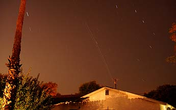 ISS and Space Shuttle Endeavor over Goleta