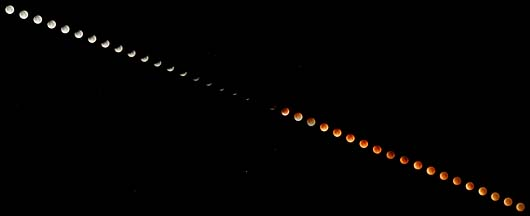 Total Lunar Eclipse, August 28, 2007