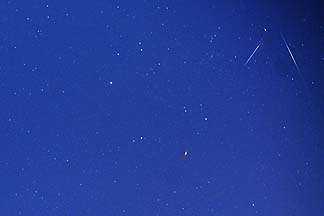 Perseid and Aurigid Meteor Showers, August - September 2007