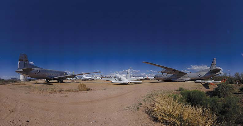 C-124, C-117, and C-133, Pima Air and Space Museum, Arizona, March 12, 2009