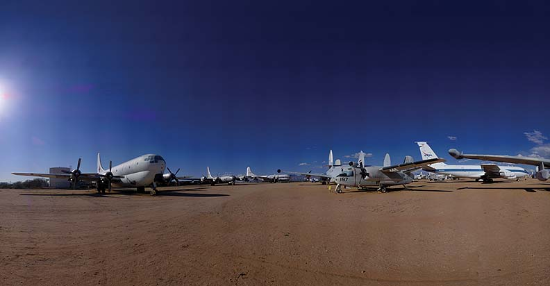 C-97G, KB-50J, KC-97G, C-135A, Pima Air and Space Museum, Arizona, March 12, 2009