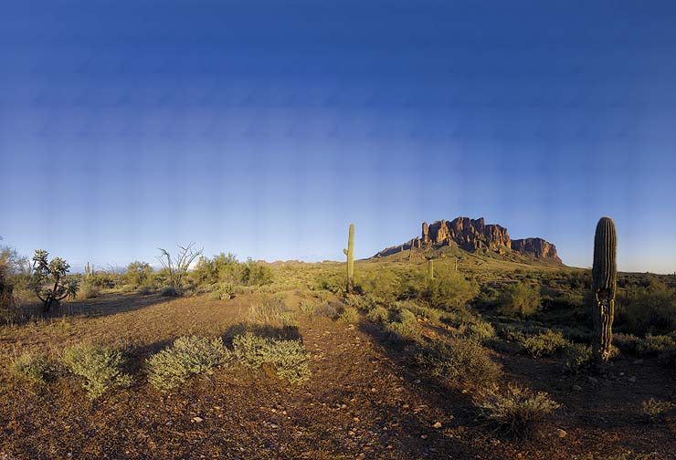 Superstition Mountains, Arizona, March 13, 2009