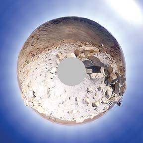 Meteor Crater, Arizona, March 16, 2009