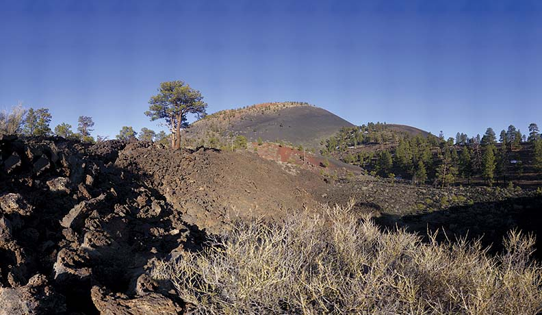 Sunset Crater, Arizona, March 16, 2009