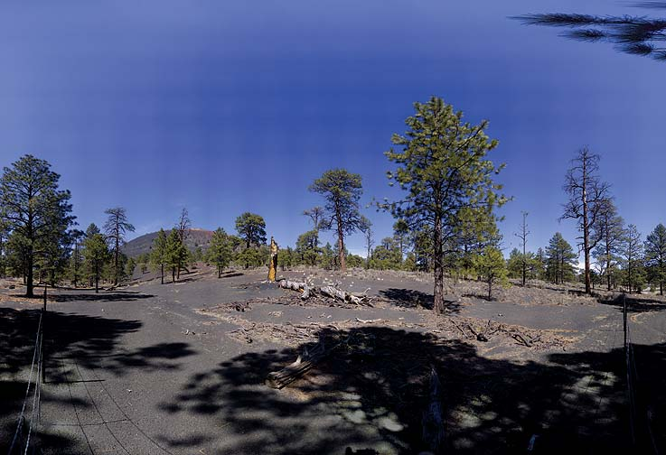 Sunset Crater, Arizona, March 17, 2009