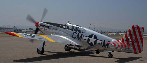 North American TP-51C Mustang NL251MX Betty Jane