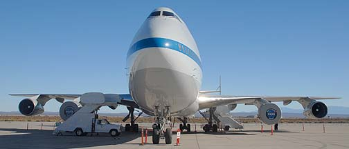 Boeing 747 Carrier Aircraft N911NA