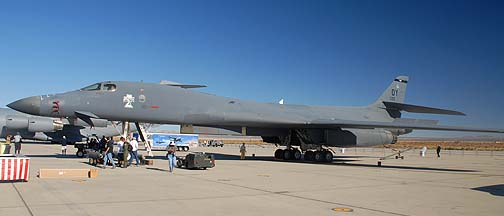 Rockwell B-1B Lancer 86-0122 of the 7th Bomb Wing
