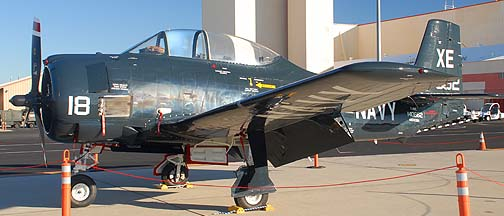 North American T-28C Troja, N243DM