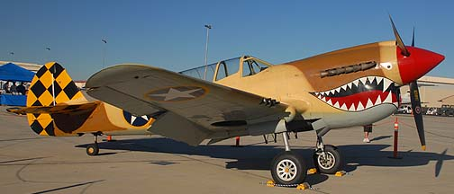 Curtiss P-40N Warhawk NL85104