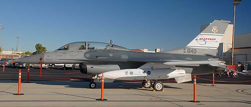 General Dynamics F-16D Block 50A Fighting Falcon 90-0840 ACAT/FRRP