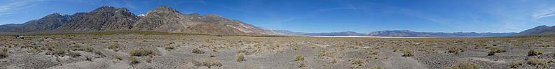 360-degree panorama of the Saline Valley