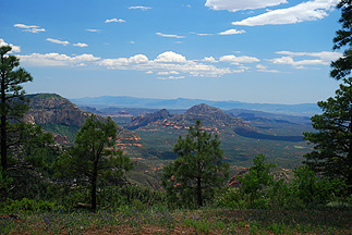 Red Rock Secret Wilderness Overlook