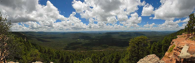 Mogollon Rim, Arizona, August 8, 2010