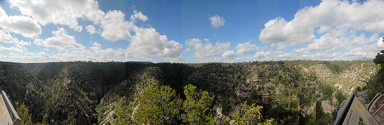 Meteor Crater, Walnut Canyon National Monument, and Grand Falls on the Little Colorado River, August 26 - 31, 2010