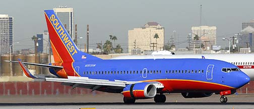 Southwest Boeing 737-3H4 N353SW, November 10, 2010
