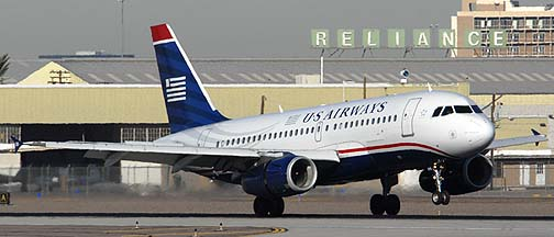 US Airways Airbus A319-132 N818AW, November 10, 2010