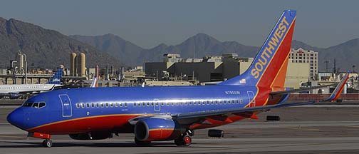 Southwest Boeing 737-7H4 N780SW, November 10, 2010